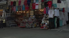 Ephesus Turkey jewelry tourist shops market HD Stock Footage