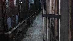 Prison Le Nuove Turin Stock Footage