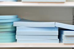 blue foam - stock photo