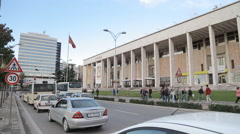 Tirana hotel opera02 Stock Footage