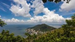 4k - Vung Tau panorama - Timelapse Stock Footage