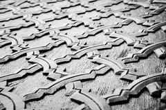 wooden islamic carving - stock photo