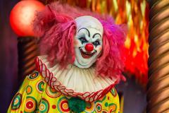 Devil spooky clown smiling. Kuvituskuvat