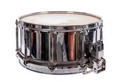 Silver music plywood snare drum Kuvituskuvat
