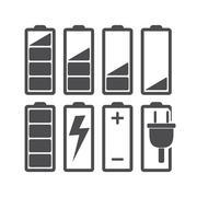 Battery - stock illustration