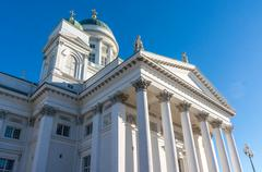 Helsinki cathedral, helsinki, finland Stock Photos