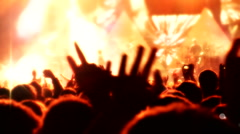Concert stage 2 1 Stock Footage