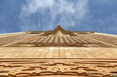 the hassan ii mosque - stock photo