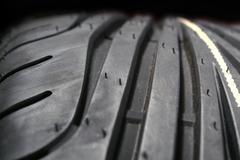 Sport tyre profile Stock Photos