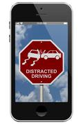 Warning of distracted driving Piirros