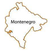 Montenegro Stock Illustration