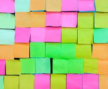 Colorful notepad Stock Photos