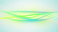 Moving curves loopable background Stock Footage