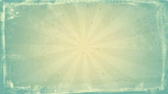 Grunge vintage rays loopable background Stock Footage