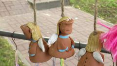 Toys made of clay. Stock Footage