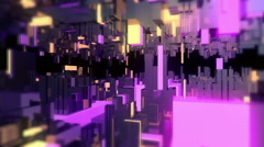 Abstract Neon and Glow Tech 01 Stock Footage