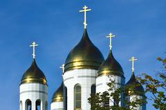 Cathedral of Christ the Savior. Kaliningrad, Russia - stock photo