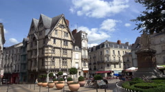Maison d'Adam - Angers France - HD 4K+ Stock Footage