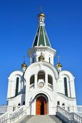 Temple of Alexander Nevsky. Kaliningrad, Russia - stock photo