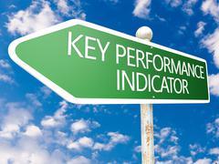 Stock Illustration of key performance indicator