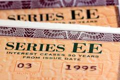 United States Savings Bonds - Series EE Stock Photos