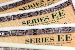 United States Savings Bonds Stock Photos