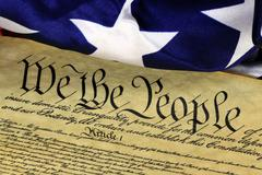 US Constitution We The People Historical Document Kuvituskuvat