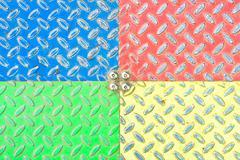 Colorful metal Stock Photos