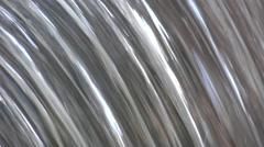 ULTRA HD 4K Beautiful waterfall curtain fall down wilderness water flowing mount Stock Footage