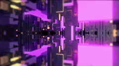 Abstract Neon and Glow Tech 02 Stock Footage