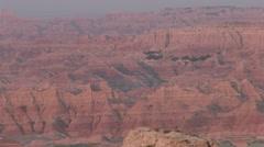 Badlands Badlands National Park Spring Geology - stock footage