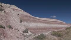 Stock Video Footage of Badlands Badlands National Park Summer Badlands Geology Strata