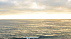 Time Lapse of Sunset at Laguna Beach -Zoom Out- - stock footage