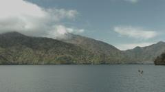 Lake Tyuzenji cloudy, non color graded Full HD (1920x1080) Stock Footage