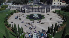 A beautiful video of the Bahai Gardens in Haifa Israel. Stock Footage