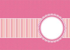 Scrapbooking vector background Stock Illustration