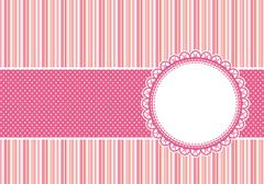 cute scrapbooking vector background - stock illustration