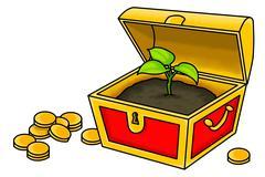 Stock Illustration of the true treasure