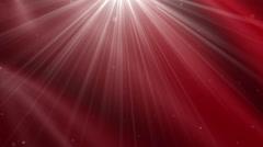 Christmas red loop background - stock footage