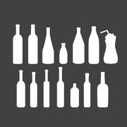 Bottle icon Stock Illustration