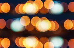 abstract circular bokeh for background - stock photo