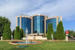 intercontinental. almaty, kazakhstan - stock photo