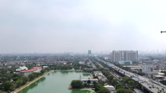city scenery - stock footage