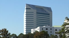 Tallahassee, Florida Department of Education bldg. Stock Footage