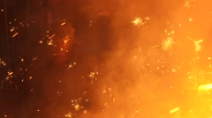 Blast furnace Stock Footage