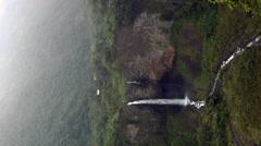 Cascada Manto de la Novia, Ecuador Stock Footage