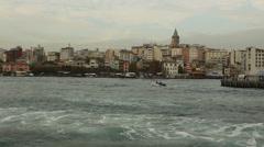 Istanbul - Turkey -Galata tower Stock Footage