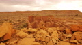 4K Chaco Culture 19 Pueblo Bonito Native American Ruins Raining 4k or 4k+ Resolution