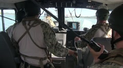 Coastal Riverine Squadron (CORIVRON) 11, RIMPAC 2014 Stock Footage