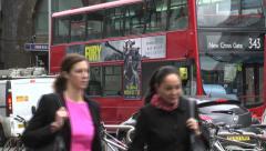 London Bridge Station - stock footage
